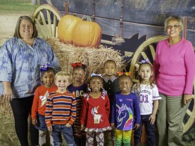 Covington Rec Center Pre School Fall Pictures